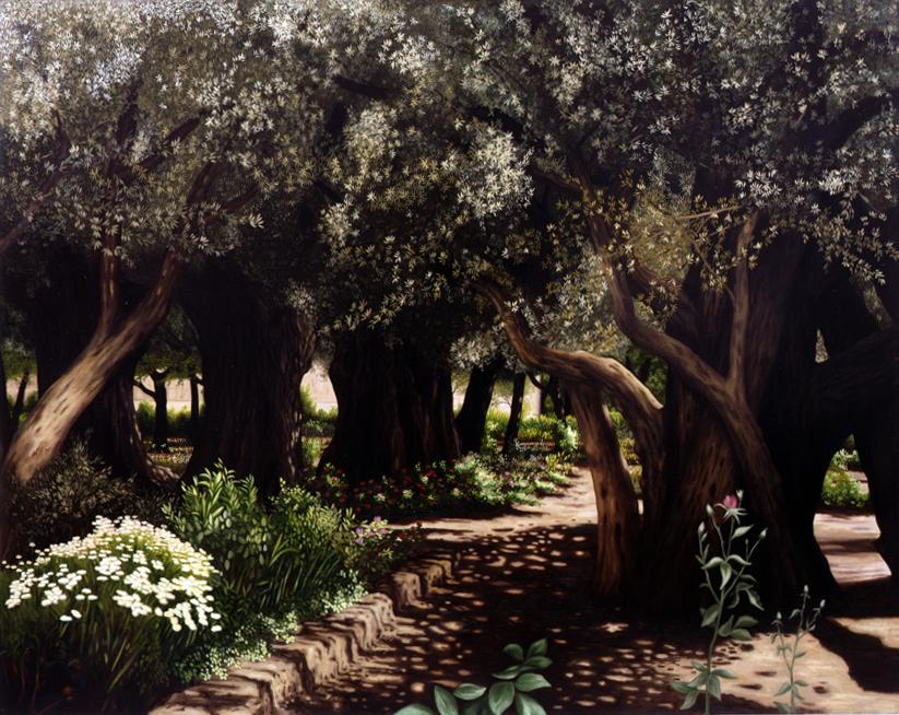 2000, Jerusalem, Garden of Gethsemane