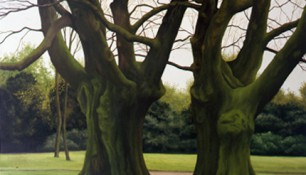 2000 - Zwolle, Park Eekhout, Oil on canvas - 230 x 160