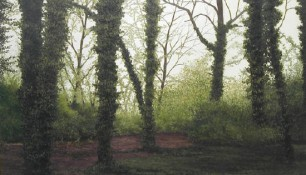 2004 - Berlin, Park Charlottenburg 2 - Oil on canvas - 80 x 100