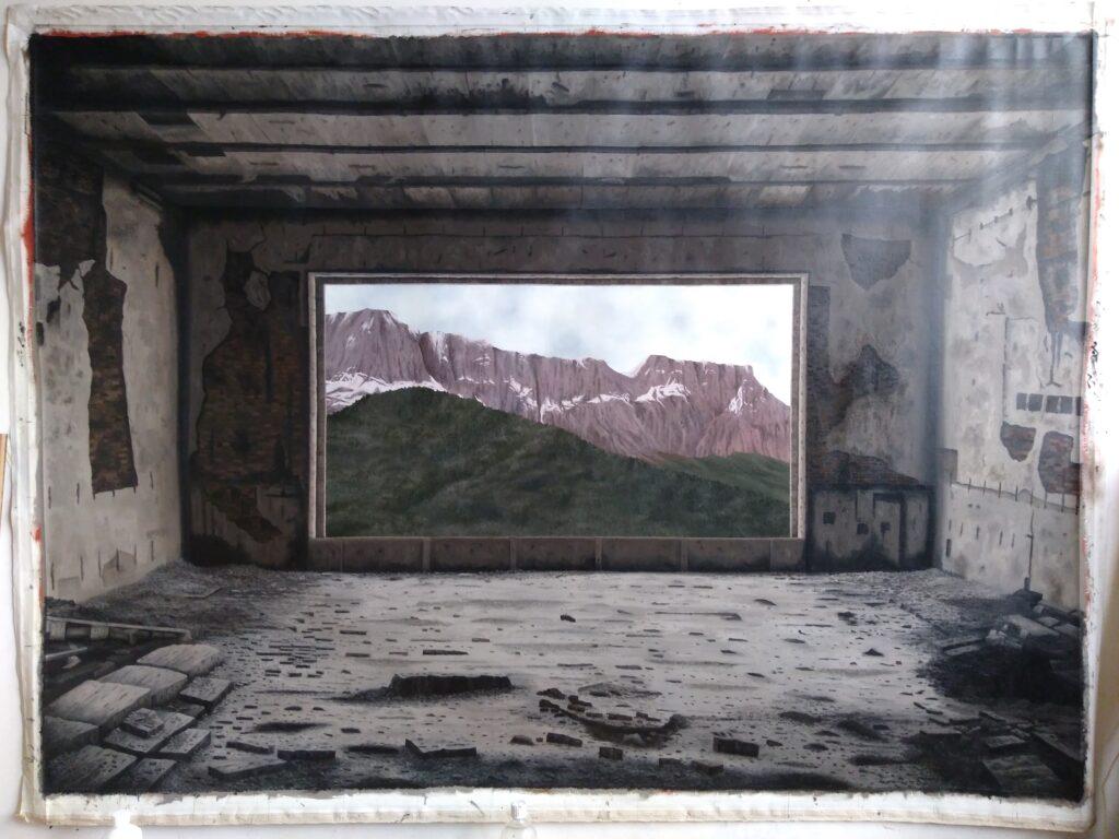 Das grosse Fenster 1945